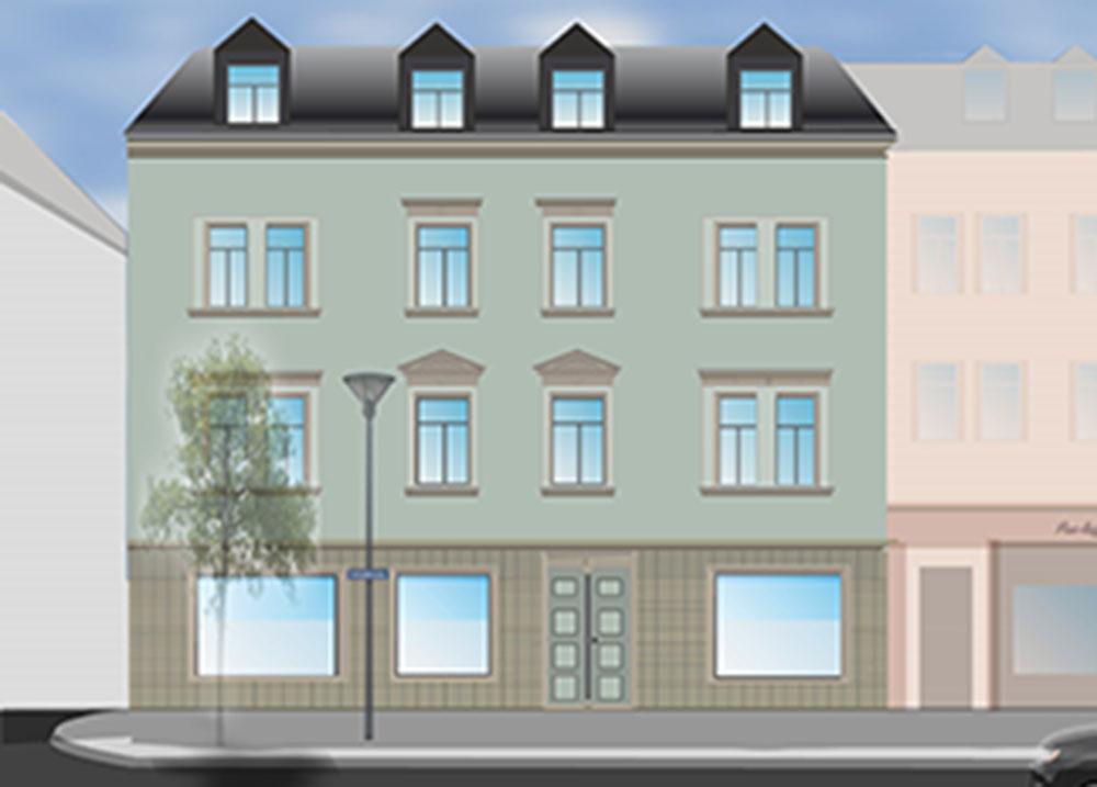 Entwurf Schlossstrasse 13 Frankenberg