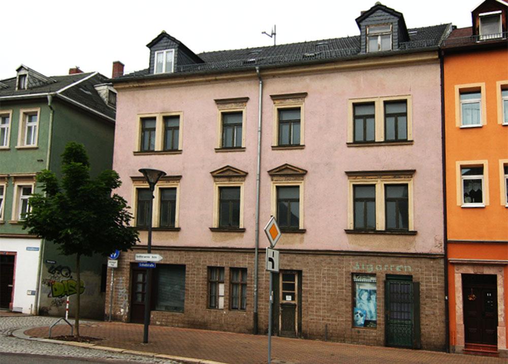 Mietshaus Schlossstrasse vor der Sanierung