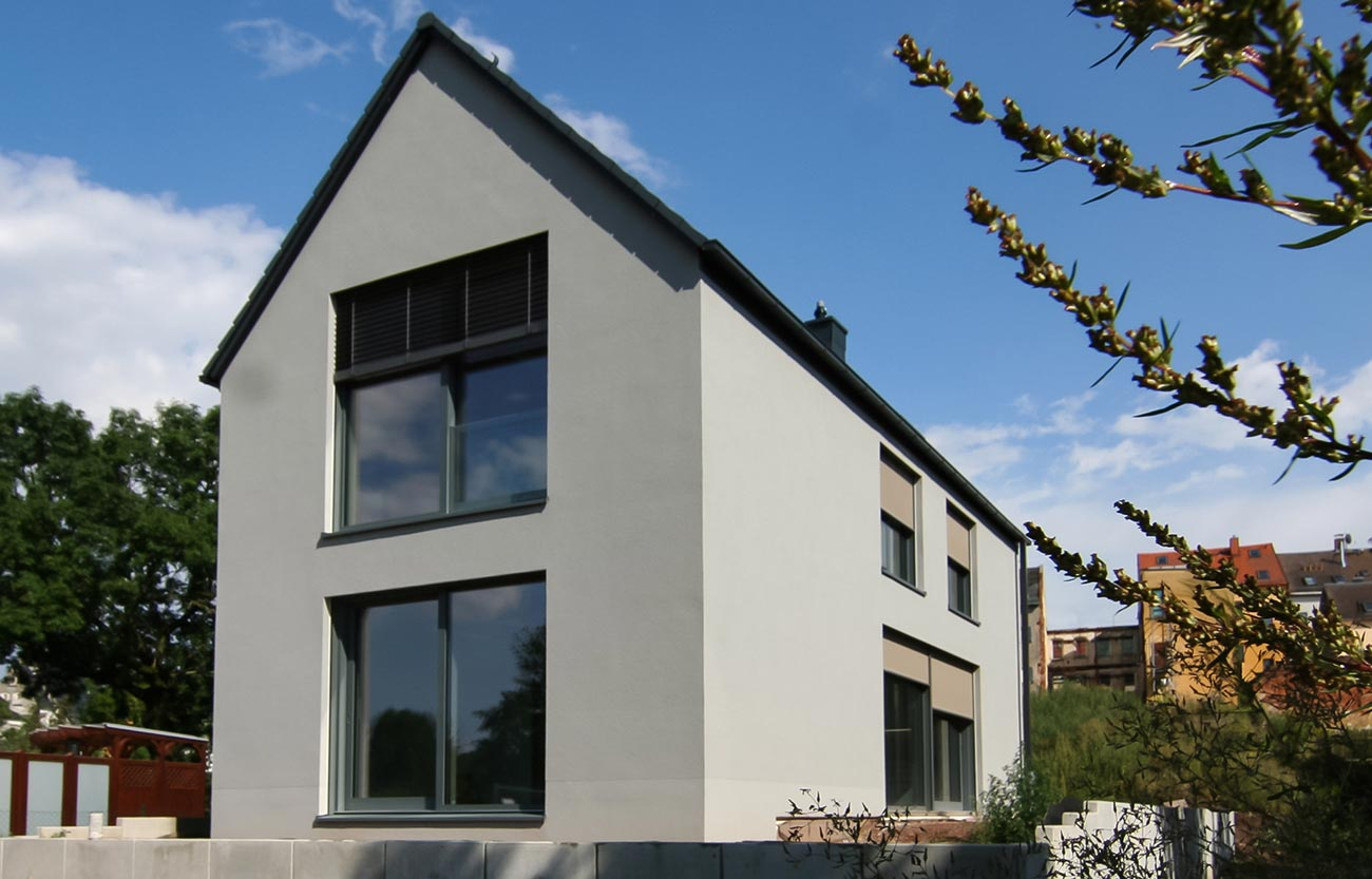 Einfamilienhaus Frankenberg - Außenansicht