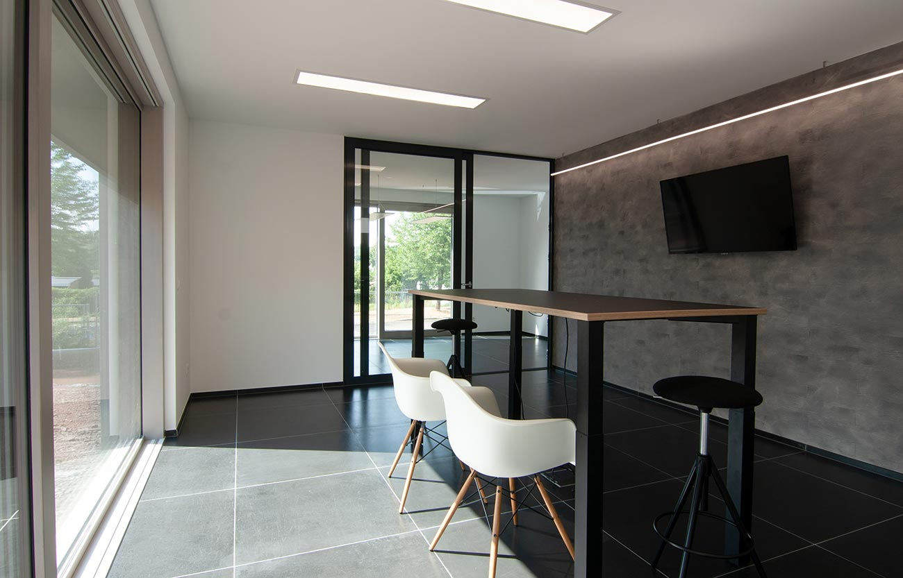 Moderne Küche im Einfamilienhaus in Frankenberg