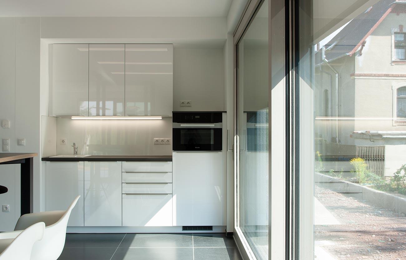 Modernes Einfamilienhaus in Frankenberg - Küche